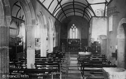 Church Interior 1895, Landewednack