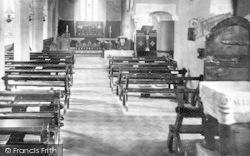 Church Interior 1904, Landewednack
