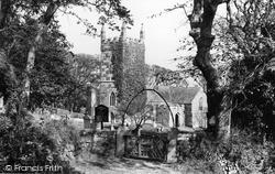 St Wynwallow's Church c.1955, Landewednack