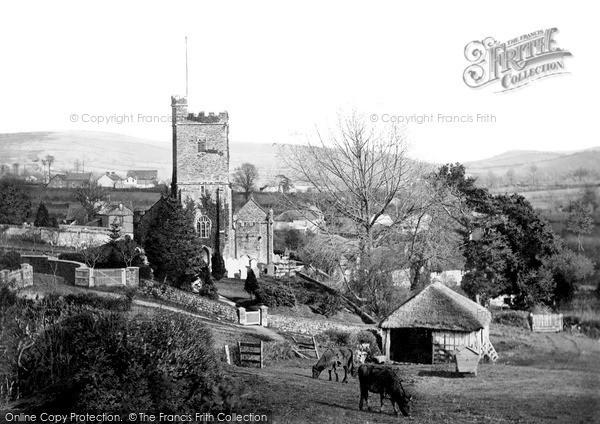 Landkey, Church c1885