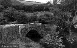 Landrake, Notter Bridge c.1960