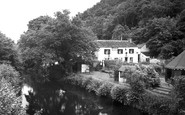 Landrake, Notter Bridge, the River and Sportsmans Arms c1960