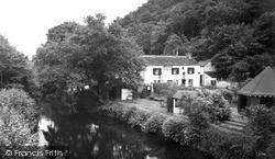 Landrake, Notter Bridge, The River And Sportsmans Arms c.1960