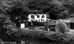 Landrake, Sportsmans Arms Inn Notter c.1960