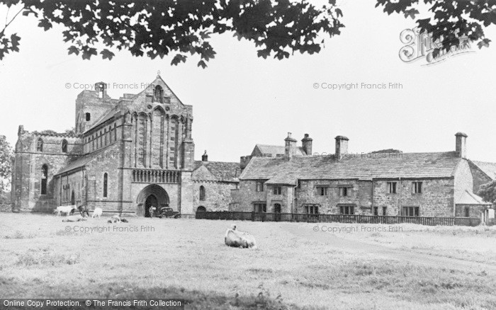 Photo of Lanercost Priory, c.1950