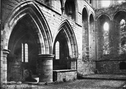 Lanercost Priory, Priory, North Side Of Choir 1924