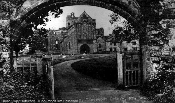 Photo of Lanercost Priory, The Gateway c.1955