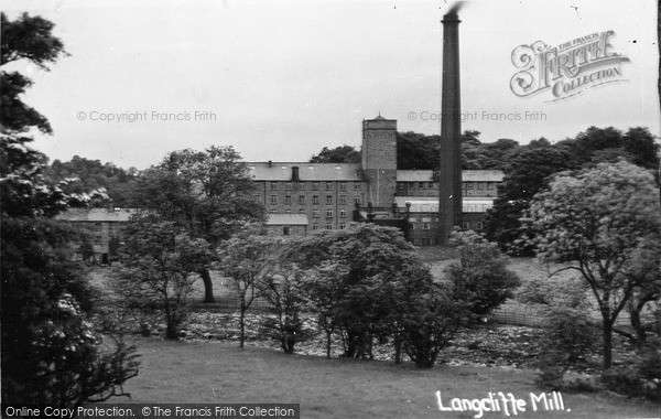 Photo of Langcliffe, The Mill c.1900