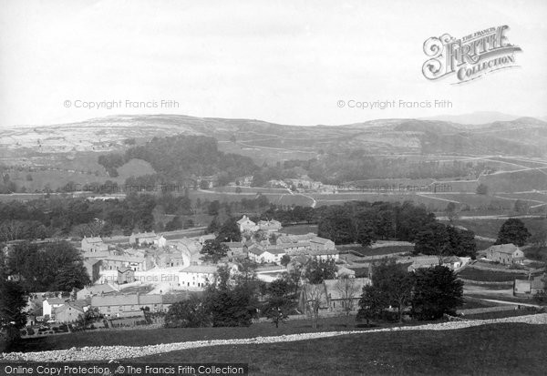 Photo of Langcliffe, The Village 1895