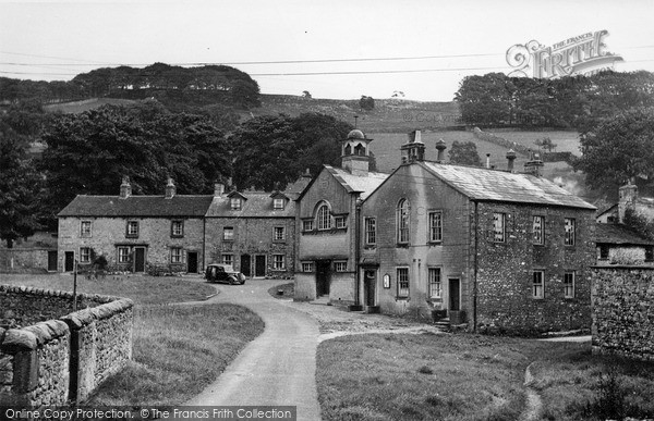 Photo of Langcliffe, The Village c.1955