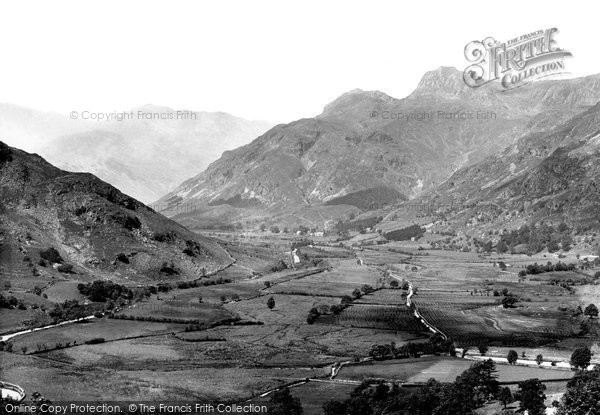 Photo of Langdale Pikes, 1892