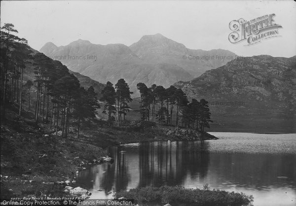 Photo of Langdale Pikes, Blea Tarn 1892