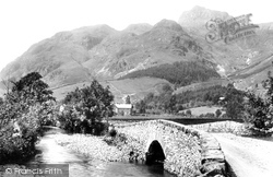 Bridge And Hotel 1892, Langdale Pikes