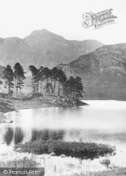 Harrison Stickle From Blea Tarn 1892, Langdale Pikes