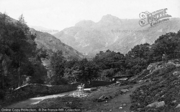 Photo of Langdale Pikes, Mountain View 1888
