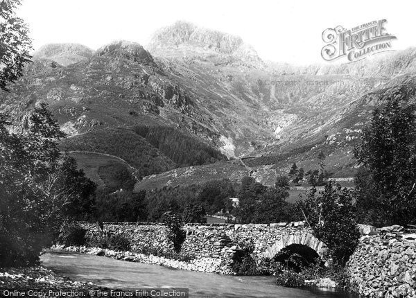 Photo of Langdale Pikes, The Mountain 1888