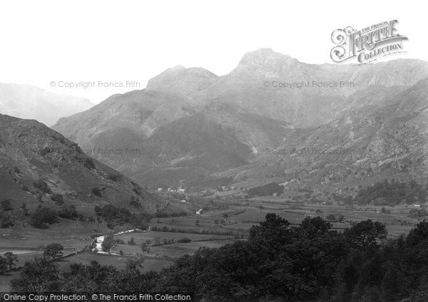 Photo of Langdale Pikes, The Pikes 1892