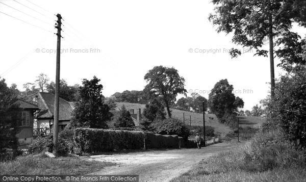 Photo of Langdon Hills, Westley Road c.1950