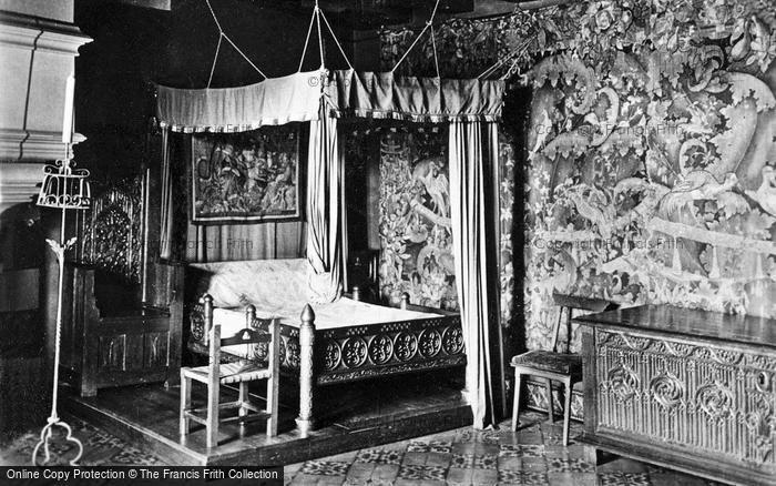 Photo of Langeais, Chateau De Langeais, A Bedroom c.1935