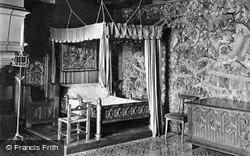 Chateau De A Bedroom c.1935, Langeais