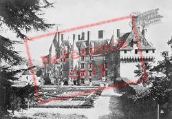 Chateau De Langeais And Gardens c.1935, Langeais