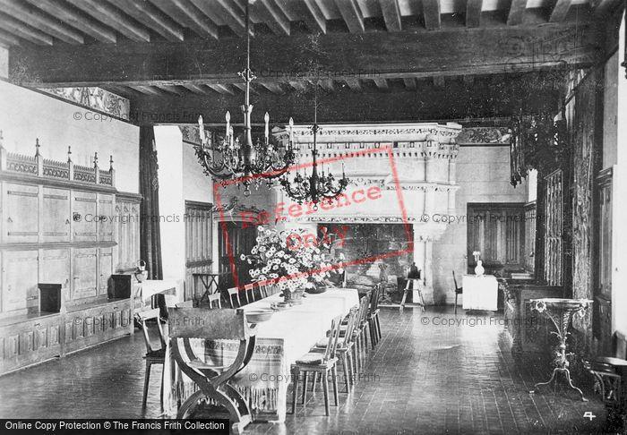 Photo of Langeais, Chateau De Langeais, Banquet Hall c.1935