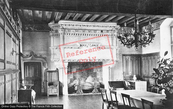 Photo of Langeais, Chateau De Langeais, Banquet Room c.1935