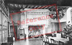 Chateau De Banquet Room c.1935, Langeais
