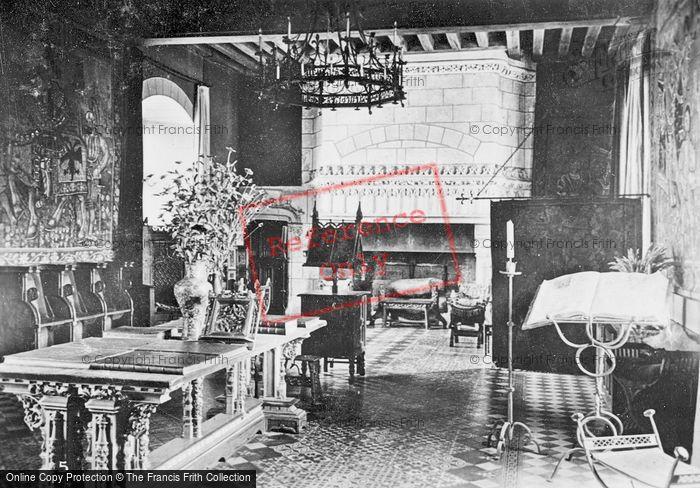 Photo of Langeais, Chateau De Langeais, Le Grand Salon c.1935