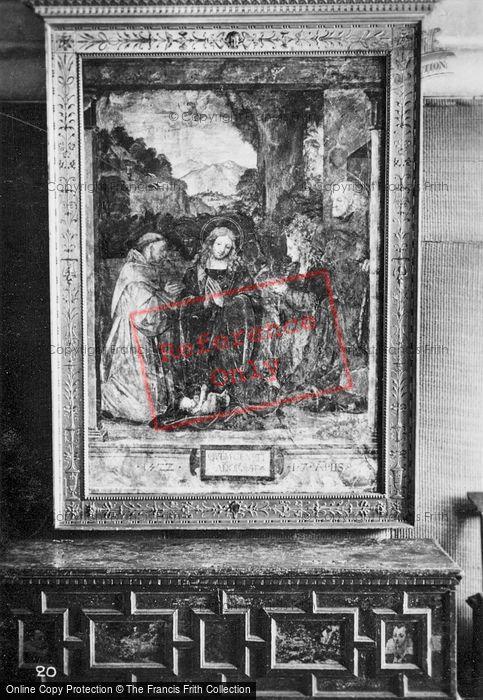 Photo of Langeais, Chateau De Langeais, Painting c.1935