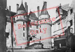 Chateau De Stairs To Drawbridge c.1935, Langeais