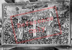 Chateau De Tapestry 'the Crucifixion' c.1935, Langeais
