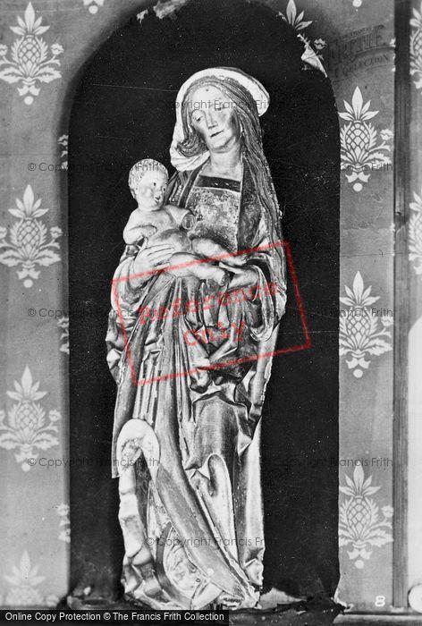 Photo of Langeais, Chateau De Langeais, The Madonna c.1935