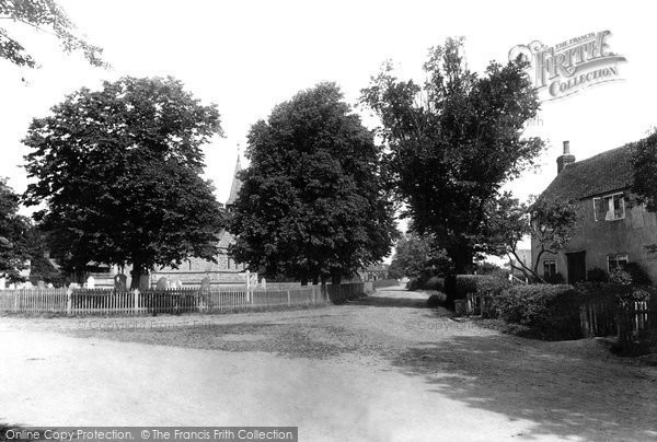 Photo of Langford, The Village 1895