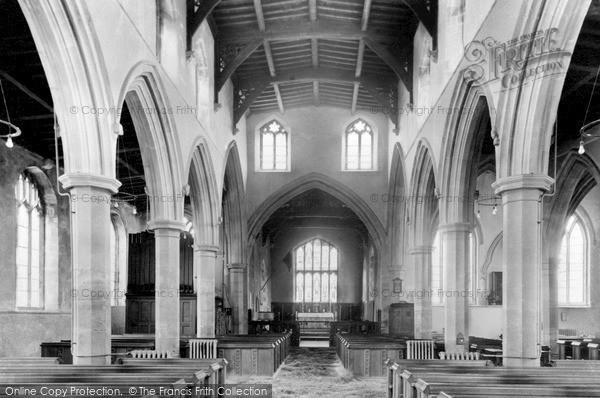 Photo of Langham, Church Chancel c.1950