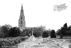 Langham, Church Of St Peter And St Paul And War Memorial c.1950