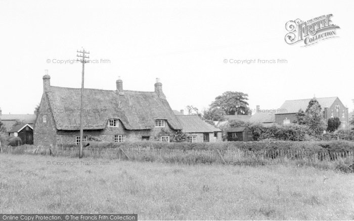 Photo of Langham, Old Cottage And Chapel c.1950