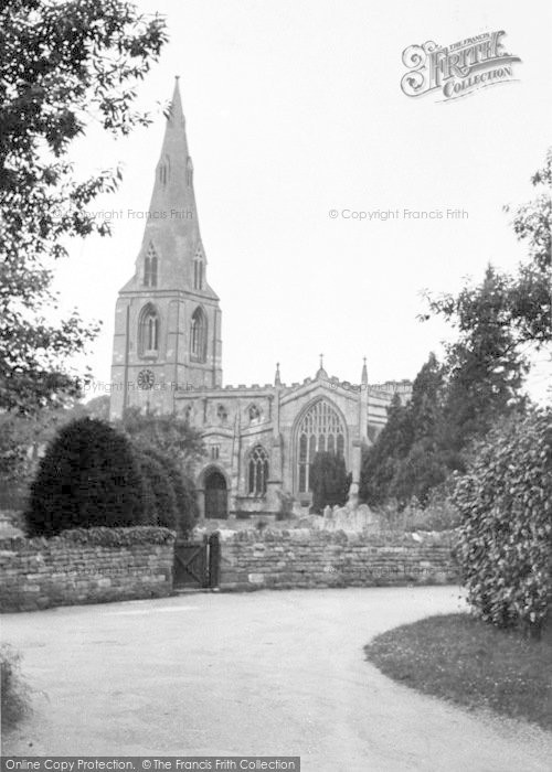 Photo of Langham, The Church c.1950