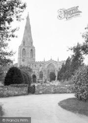 Langham, The Church c.1950
