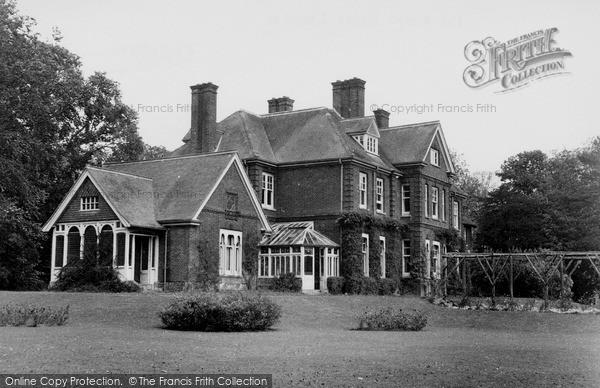 Photo of Langham, The Manor House c.1955