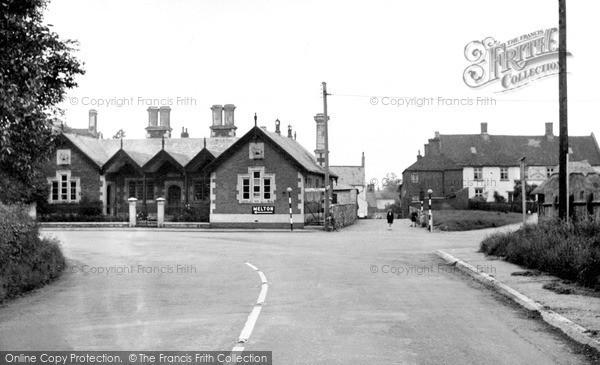 Photo of Langham, The School And School Lane c.1950