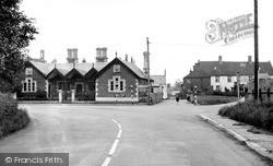 Langham, The School And School Lane c.1950