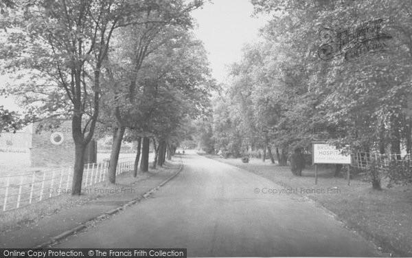 Photo of Langho, Brockhall Hospital Drive c.1965