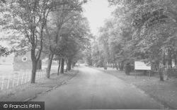 Brockhall Hospital Drive c.1965, Langho