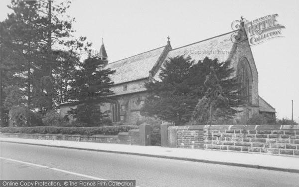 Photo of Langho, St Leonard's Church c.1955