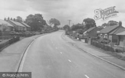Whalley Road c.1955, Langho