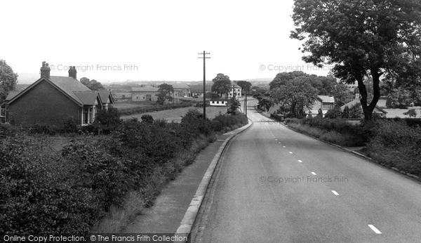 Photo of Langho, Whalley Road  c.1955
