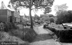 Whinney Lane c.1955, Langho
