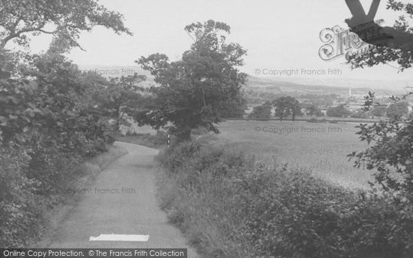 Photo of Langho, Whitehalgh Lane c.1955