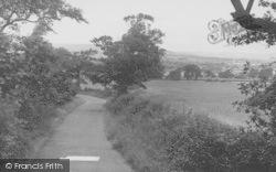 Whitehalgh Lane c.1955, Langho